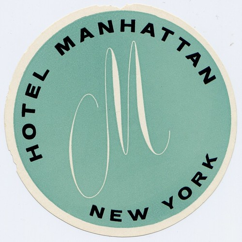 hotel manhattan new york by Millie Motts