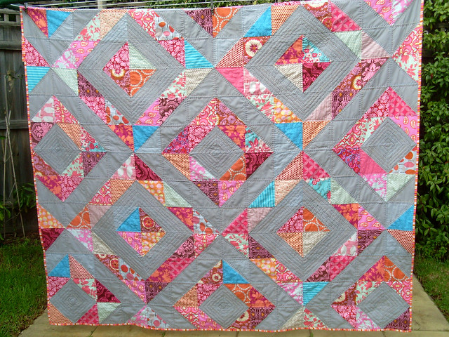 finished and all quilted