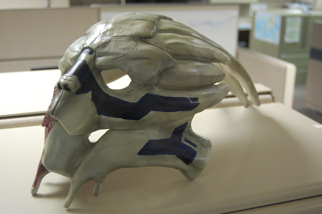 Garrus Mask Paint