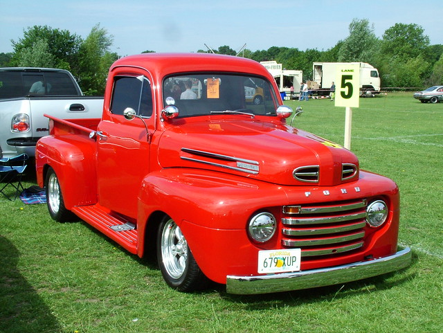 ford pick up 1950 ford f 100 pickup truck street rod by kenjonbro flickr photo sharing. Black Bedroom Furniture Sets. Home Design Ideas