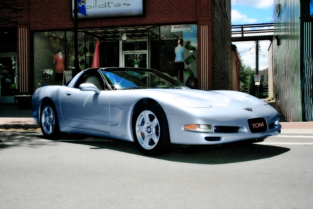 Corvette C5 Silver