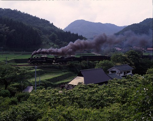 japanese steam train