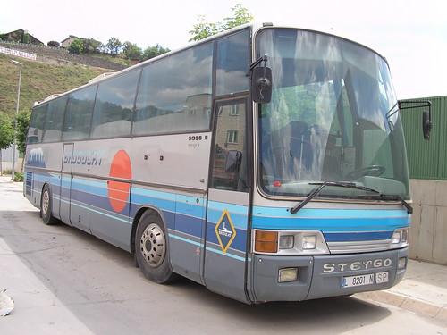autocar PEGASO a La Seu d'Urgell (Lleida)