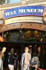 Wax museum entrance
