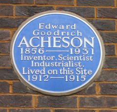 Photo of Edward Goodrich Acheson blue plaque