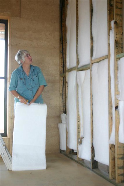 Insulation In The Stud Walls Flickr Photo Sharing