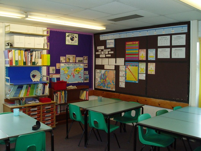 Classroom by Flickr CC misskprimary