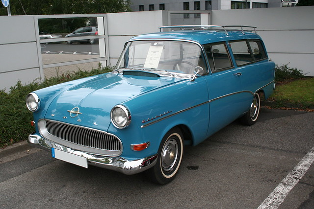 Old Fashioned Cars >> Opel Rekord Olympia Caravan (1959) | Explore alvial111's pho… | Flickr - Photo Sharing!