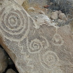 Petroglyphs near Bishop