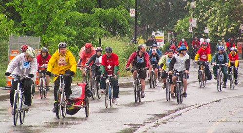 Tour de L'ile de Montreal - The Red Army arrives