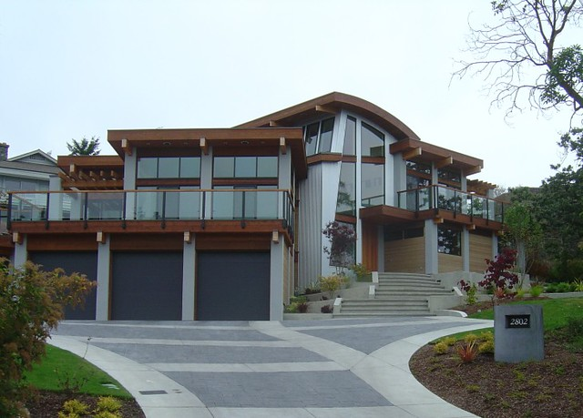Modern northwest house flickr photo sharing - Northwest home designs ...