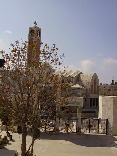 Amman-Eglise copte face à la mosquée Abdalah I