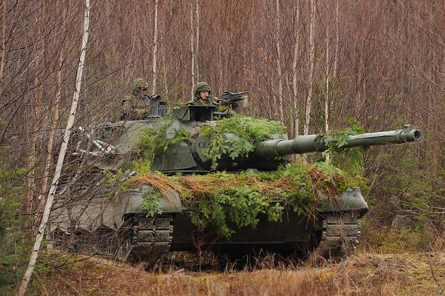 Канадские танки Леопард