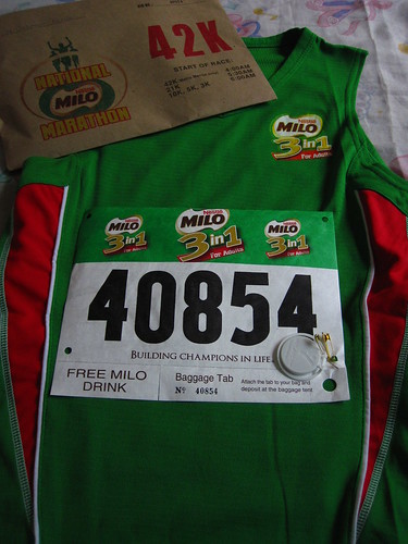 34th Milo Marathon Race Kit