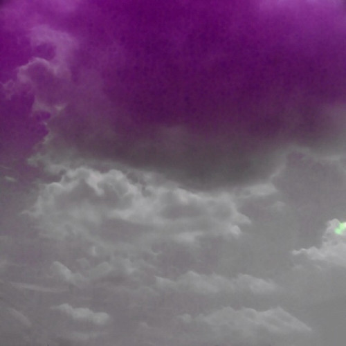 Purple and Gray Clouds #1