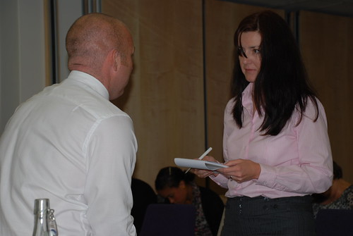 Access Select's Craig West talks to a customer