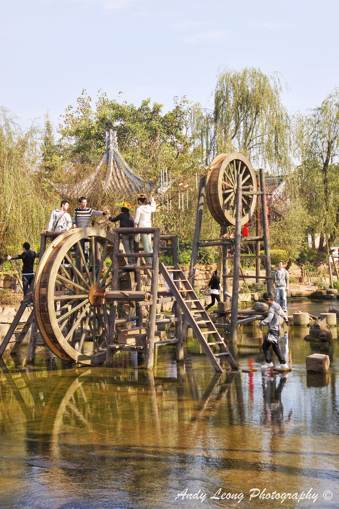 Ancient Water Wheel Water Wheel 150cc 3 Wheel Scooter