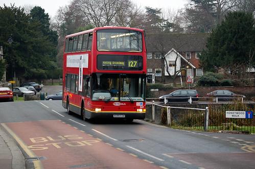 Metrobus 869 on route 127