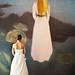 floating bride by ccandumplins