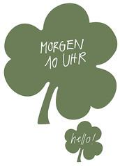 clover, text, green, illustration,