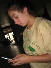 Nicole Texting