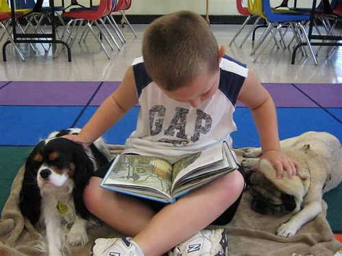 Read to dogs by HHHCL