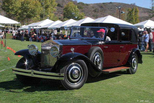 1931 Rolls-Royce Phantom II Savoy Town Car - fvl