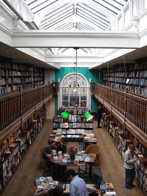 Daunt Books's famous gallery