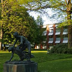 arne jacobsen, glostrup town hall, 1953-1959