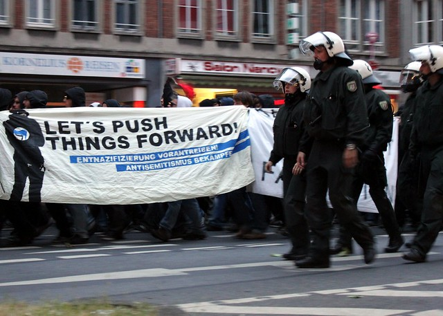Antifa Demo in Aachen