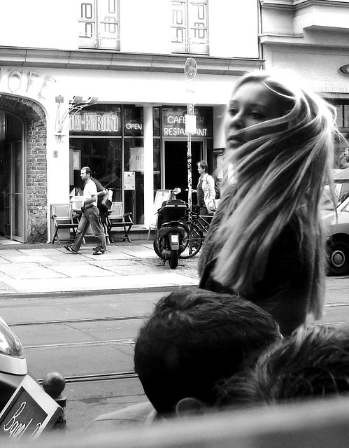Berlin. Motion. Hair.