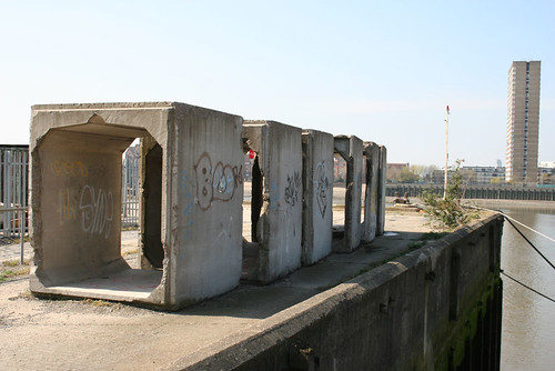 "A selection of odd concrete ""tubes"""