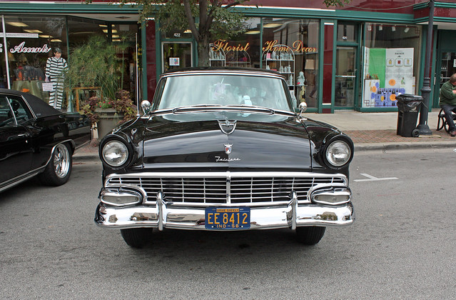 1956 ford fairlane victoria 4 door hardtop 1 of 13 for 1956 ford fairlane 4 door
