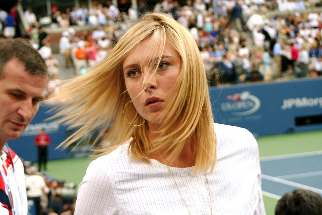 Maria Sharapova at the 2007 US Open