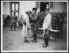 Prince Arthur of Connaught decorating a French sergeant