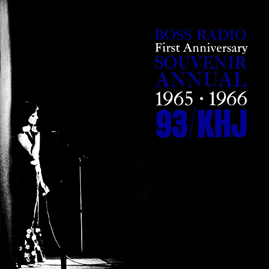 1966 - Boss Radio First Anniversary Souvenir Annual