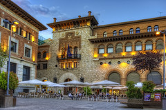 Plaza de San Juan, Teruel (Spain), HDR