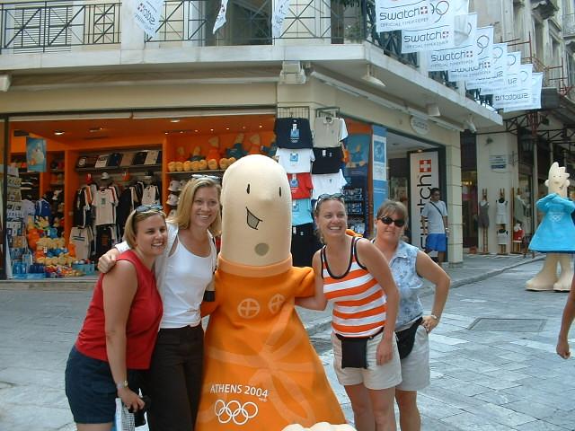 plaka - olympic mascots, Fujifilm FinePix2650