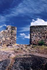 St-Martin - Marigot - Fort - Wall