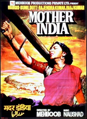 Mother India poster by Sam Millar