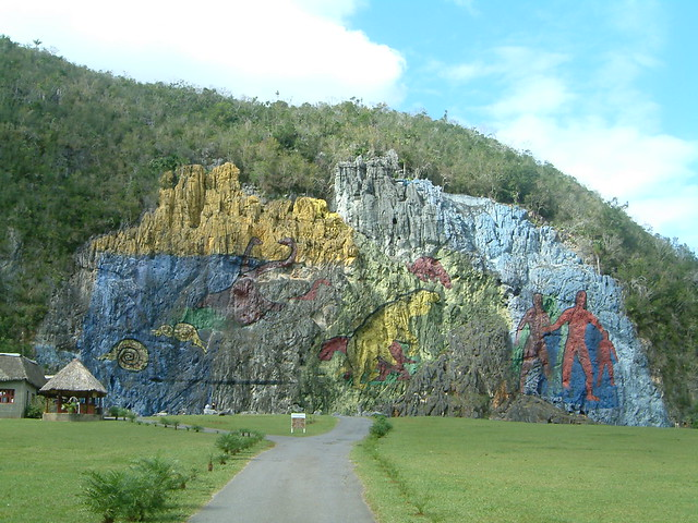 Mural de la prehistoria vinales cuba flickr photo for Mural de la prehistoria cuba