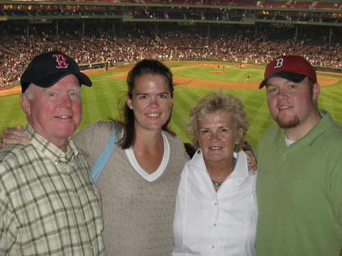The Fam at Fenway - July '07
