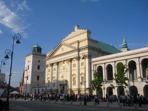 St. Ann's Church ( Akademicki Kosciot SW. Anny) Warsaw Poland