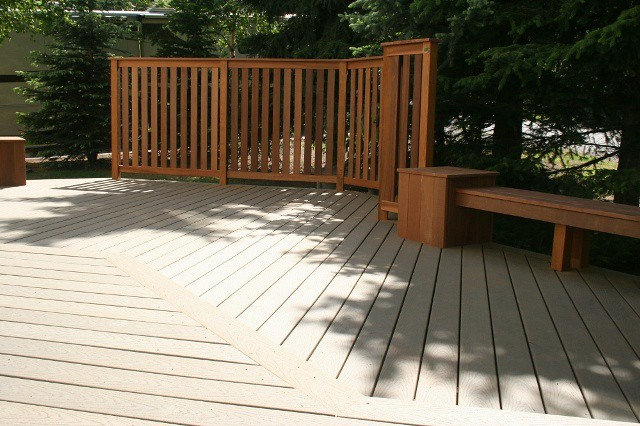 deck design ideas trex cedar hardwood alaskan0122 flickr photo