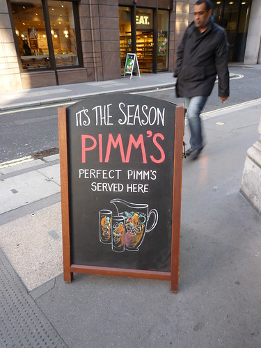 Balls its the season pimms