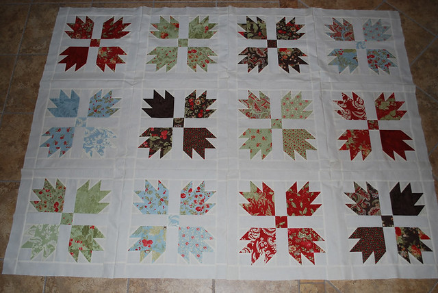 Vintage Inspired Bear Paw Quilt Flickr Photo Sharing
