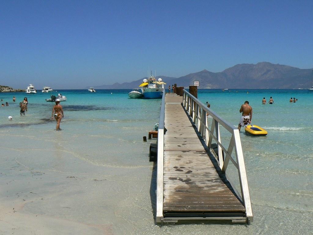 Пляж Лотю корсика