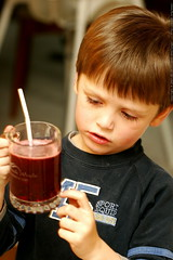 too much pulp in my blackberry lemonade!    MG 3141