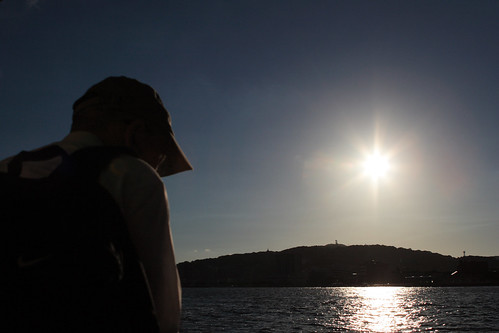 sunset sky sun sunlight man reflection japan geotagged bay blog ship 日本 fukuoka kitakyushu wakamatsu 福岡 福岡県 北九州 tobata wakato dokai mrhayata geo:lat=339016944 geo:lon=1308167917