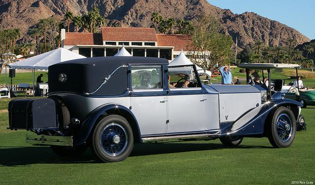 1930 Rolls-Royce Phantom II Brewster - rvr